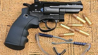 Download ASG Dan Wesson 2.5 inch black CO2 airsoft revolver review Video