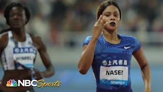 Download Salwa Eid Naser Cruises in 400 Meters   NBC Sports Video