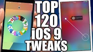 Download TOP 120 iOS 9 Jailbreak Cydia Tweaks Video