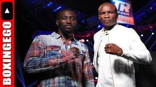 Download Terence Crawford VISIBILY SMALLER than Julius Indongo Before UNDISPUTED ESPN Video