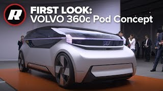 Download Why Volvo's 360c concept is better than a private plane Video