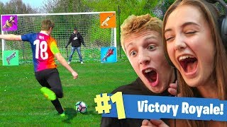 Download WORLD CUP FORTNITE FOOTBALL vs MY SISTER Video