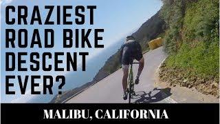 Download Craziest road bike descent ever? Phil Gaimon rides Tuna Canyon in Malibu Video