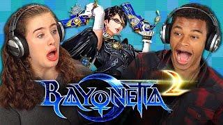 Download BAYONETTA 2 (Teens React: Gaming) Video