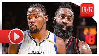 Download James Harden vs Kevin Durant SICK Battle Highlights (2016.12.01) Warriors vs Rockets - MUST SEE! Video