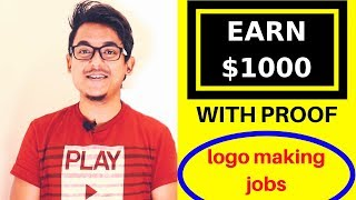 Download Earn $1000 With Proof No Investment - Design Crowd Logo Design Jobs Video