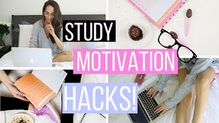 Download STUDY MOTIVATION: 10 Life Hacks That Will Motivate You To Study! Video