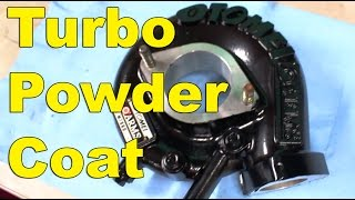 Download Powder Coating Tomei Turbocharger Video