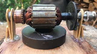 Download Electric Motor - How to make a battery powered toy mini universal motors DIY work Video