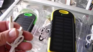 Download cargador solar para celular, cargador portatil para movil, unboxing Video