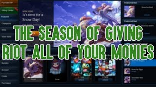 Download The Season of Giving Riot All of Your Monies Video