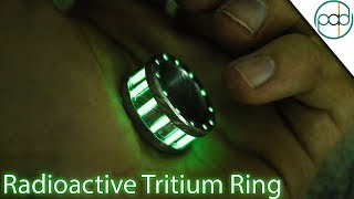 Download Making a Tritium and Damascus Steel Glow Ring Video