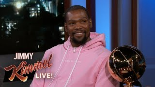 Download Kevin Durant on J.R. Smith Blunder, LeBron James & Partying After Finals Win Video