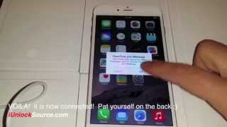 Download Unlock iPhone 6 or 6 Plus use it with any GSM Network! Video
