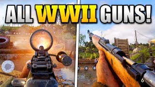 Download GAMEPLAY OF ALL WEAPONS (SO FAR) IN COD WW2! Video