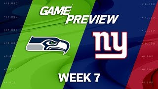 Download Seattle Seahawks vs. New York Giants | Week 7 Game Preview | NFL Video