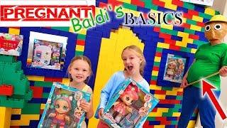 Download Pregnant Baldi's Basics in Real Life Kindi Kids Toy Scavenger Hunt! Video