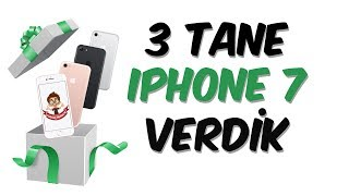 Download 3 Tane iPhone 7 Verdik Video