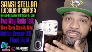 Download #SANSI Stellar Floodlight Camera Review | Installation💡 : LGTV Review Video