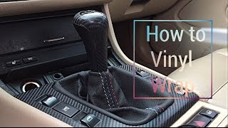 Download How to vinyl wrap BMW e46 interior trim Video