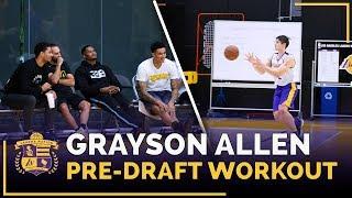 Download Kyle Kuzma, Josh Hart Watch Duke Guard Grayson Allen's Lakers Pre-Draft Workout Video