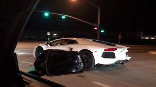 Download Lamborghini Aventador vs Mustang GT on the Streets! Video