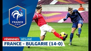 Download France-Bulgarie Féminine A (14-0) : les buts en 3 minutes Video