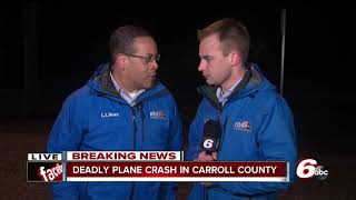 Download Three people killed in Carroll County plane crash Video