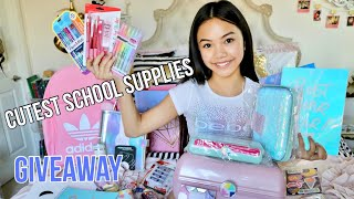 Download CUTEST BACK TO SCHOOL SUPPLIES GIVEAWAY! Video