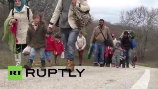 Download Greece: Hundreds of refugees attempt to reach Macedonia via Chamilo Video