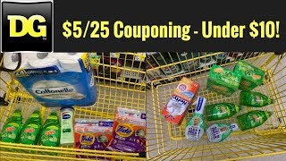 Download Dollar General $5/25 Couponing | 2 🔥 Household Transactions! Video