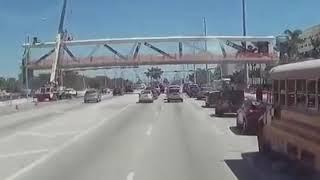 Download FIU Bridge Collapse Caught on Dash Cam Video