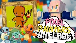 Download Pokémon Victory | Pixel Painters | Minecraft Art Minigame Video