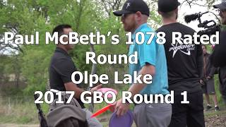 Download McBeast Mic'd Up - Paul McBeth's 1078 Rated 2017 GBO Round 1 Video