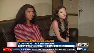 Download Friends remember teen killed in car crash Video