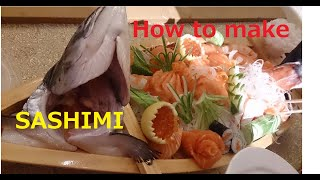 Download Chef Keiichi How to cut Salmon Sashimi and Sushi fillet ☆ Video
