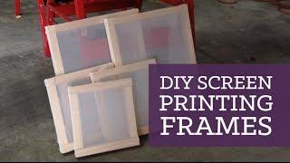 Download DIY screen printing frames | CharliMarieTV Video