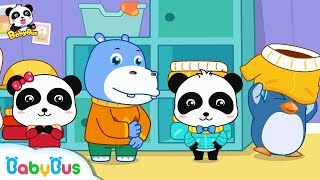 Download Baby Panda Wears Clothes on His Own | Kids Daily Routine | Kids Good Habits | BabyBus Video