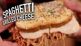 Download Spaghetti Grilled Cheese Video