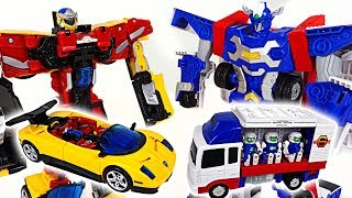 Download Hello Carbot engineer Iront and sports car Converstor transform robot appeared! - DuDuPopTOY Video