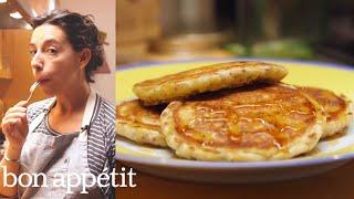 Download Carla Makes Deceptively Healthy Pancakes | Bin It To Win It | Bon Appetit Video