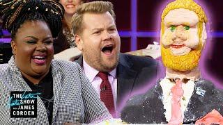 Download Judging James Corden Cakes w/ 'Nailed It' Star Nicole Byer & Michael Douglas Video