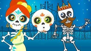 Download Canciones de Las Calaveras, Cinco Bebés Monstruitos Incy Wincy Spider y más con Chumbala Cachumbala Video