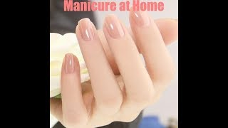 Download Salon style manicure at home | How to do manicure at home in hindi Video