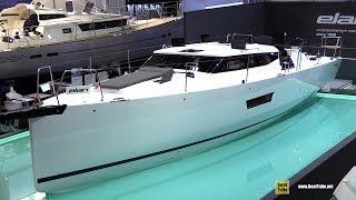 Download 2018 Elan GT5 Sailing Yacht - Walkaround - 2018 Boot Dusseldorf Boat Show Video