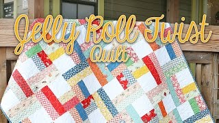 Download Jelly Roll Twist: Easy Quilting Tutorial – Fat Quarter Shop Video