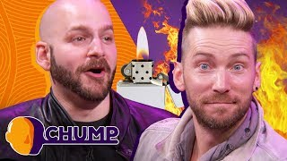 Download Did Troy Baker Set Himself on FIRE? - CHUMP | Rooster Teeth Video