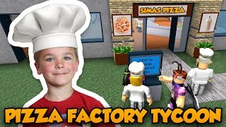 Download WELCOME TO MY PIZZA RESTAURANT | ROBLOX PIZZA FACTORY TYCOON Video