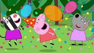 Download Peppa Pig English Episodes 🎉 It's Peppa's New Year Party Time 🎉 Peppa Pig Official | 4K Video