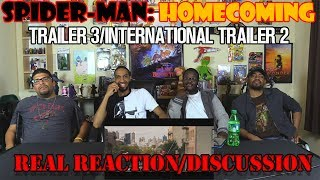 Download Spider-Man: Homecoming - Trailer 3/International Trailer 2 Real Reaction/Discussion Video